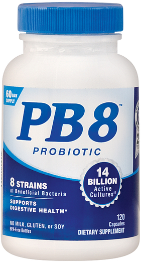 PB 8 probiotyk z bakteriami acidophilus 120 Kapsułki