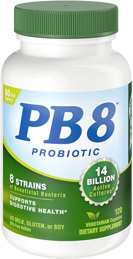 Probiotyk PB 8 wegetariański 120 Kapsułki wegetariańskie
