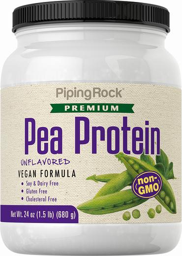 Pea Protein Powder Non-GMO, 24 oz (681 g)