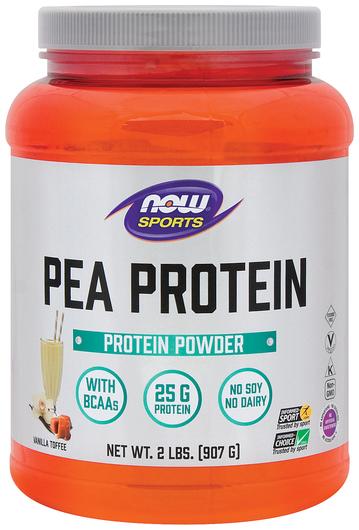 Pea Protein Powder (Vanilla Toffee), 2 lbs