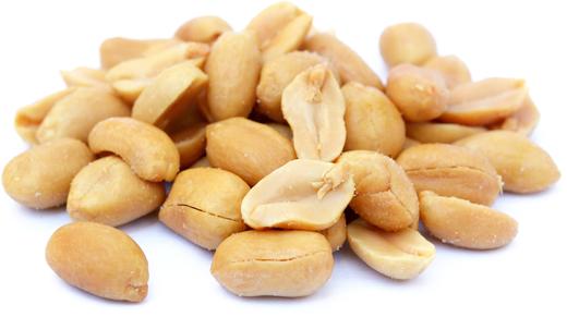 Amendoim torrado com sal (sem casca), 1 lb (454 g) Saco
