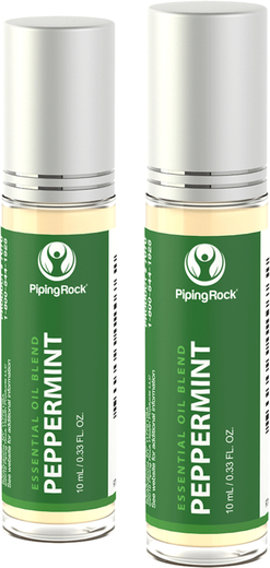 Peppermint Essential Oil Roll-On Blend 10 mL (0.33 fl oz) Roll-on