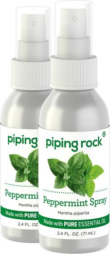 Semprotan Pepermin 2.4 fl oz (71 mL) Botol Semprot