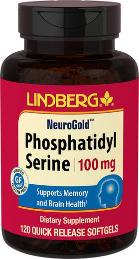 Phosphatidylserine (PS), 100 mg, 120 Quick Release Softgels