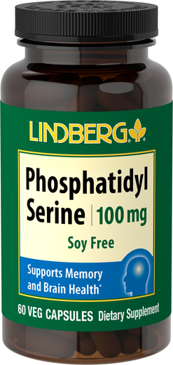 Phosphatidylserine (Soy Free) 100 mg, 60 Veg Caps