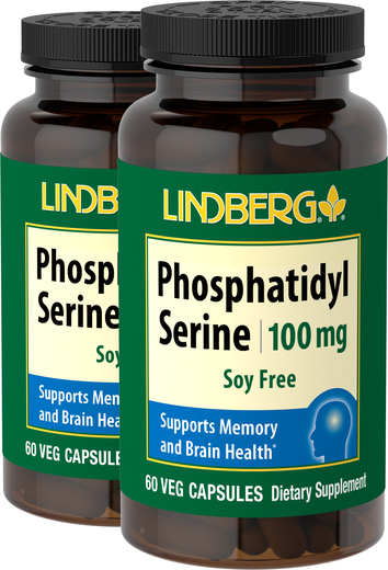 Phosphatidylserine (Soy Free), 100 mg, 60 Vegetarian Capsules