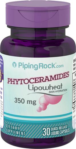 Phytoceramides 350mg (Lipowheat) Supplement Capsules