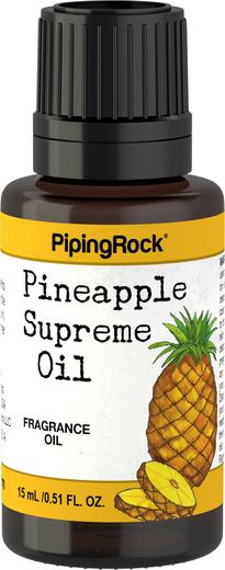 Óleo perfumado supremo de ananás, 1/2 fl oz (15 mL) Frasco conta-gotas