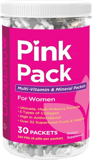 Pink Pack for Women (zestaw witamin i minerałów) 30 Paczki
