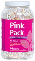 Pink Pack for Women (zestaw witamin i minerałów) 90 Paczki