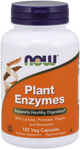 Enzymy roślinne 120 Kapsułki wegetariańskie