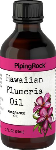 Óleo perfumado de pluméria (havaiana), 2 fl oz (59 mL) Frasco conta-gotas