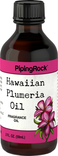 Plumeria (Hawaiian) Fragrance Oil 2 oz (59 ml) Dropper Bottle