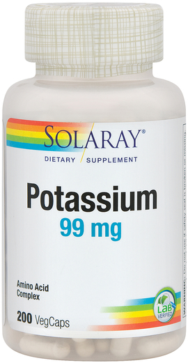 Potassium Amino Acid Chelate, 99 mg, 200 Veg Caps