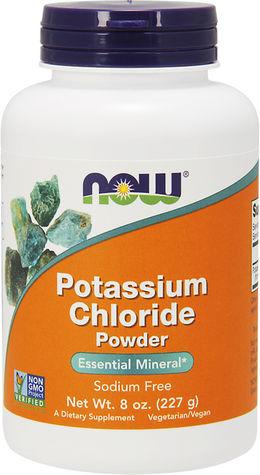 Polvo de cloruro de potasio 8 oz Botella/Frasco