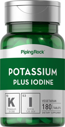 Potássio Plus iodo, 180 Comprimidos