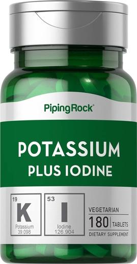 Potássio Plus iodo 180 Comprimidos