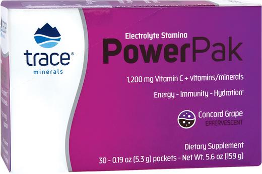Witamina C w proszku Power Pak (pyszne winogrona) 30 Paczki