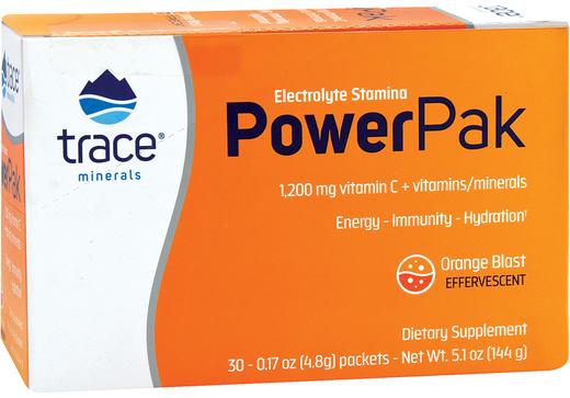 Witamina C w proszku Power Pak (pomarańczowa erupcja) 30 Paczki