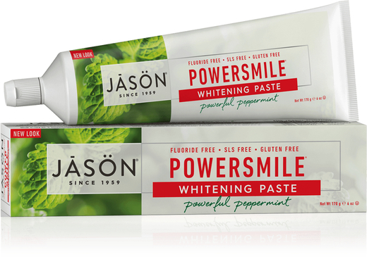 Jason PowerSmile Whitening Toothpaste 6 oz (170 g) Tube