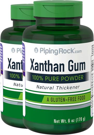 Premium Xanthan Gum Powder 2 Bottles x 6 oz (170 g)