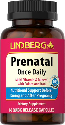 Prenatal Once Daily, 60 Capsules