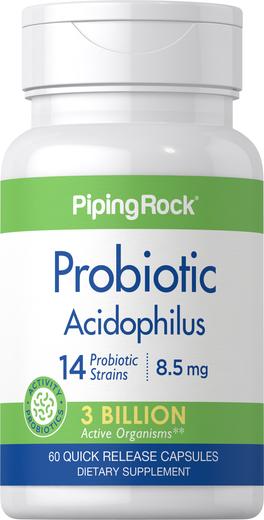 Probiotic Acidophilus 14 Strains 3 Billion Organisms