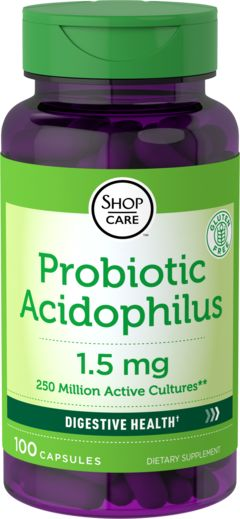 Buy Discounted  Probiotic Acidophilus 250 Million OrganismsBenefits and Other Vitamins & Supplements onli