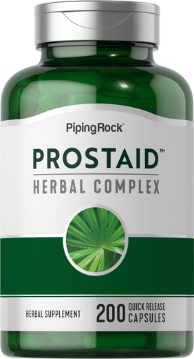 Saw Palmetto ProstAid Herbal Complex 200 Capsules