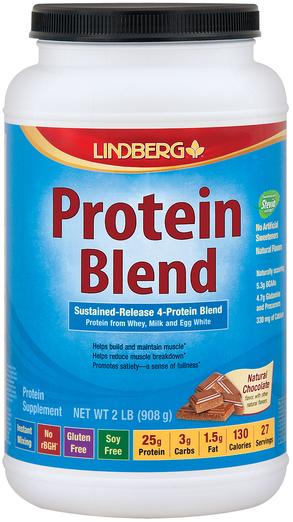 Mieszanka białek (czekolada naturalna) 2 lb (908 g) size_units.unit.118