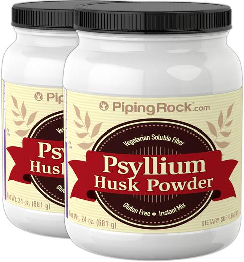 Psyllium Husk Powder 2 x 24 oz (681 g)