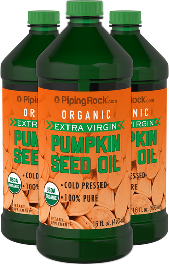 Pumpkin Seed Oil 3 x 16 fl oz (473 mL)