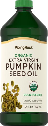 Buy Organic Pumpkin Seed Oil 16 fl oz (473 mL)
