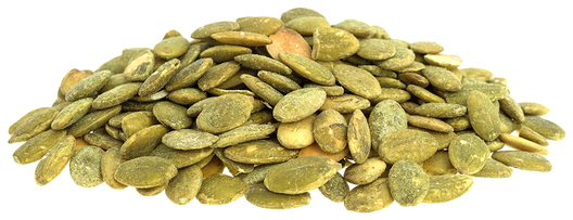 Sementes de abóbora tostadas, com sal e sem casca, 1 lb (454 g) Saco
