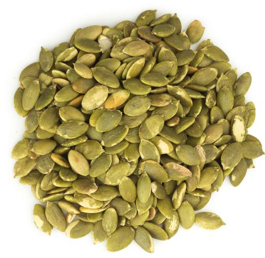 Græskarkerner - ristede og usaltede, med skal 1 lb (454 g) Pose