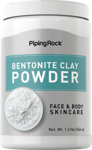 Bentonite Clay Powder 1.2 lbs (544 g) Bottle for Hair and Skin