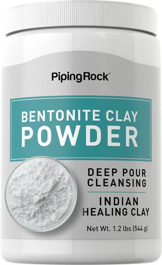 Czysta glinka bentonitowa w proszku  1.2 lbs (544 g) Butelka