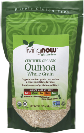 Quinoa Whole Grain Organic 16 oz (454 g) Bag