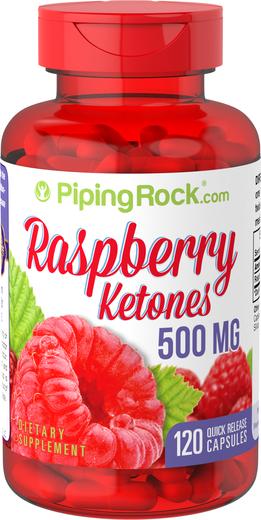 Raspberry Ketones 500mg 120 Capsules