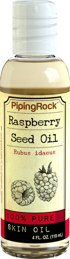 Óleo de sementes de framboesa, 4 fl oz (118 mL) Frasco