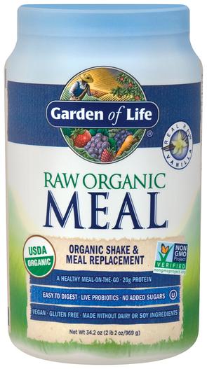 Proszek Raw Organic Meal (wanilia) 34.2 oz (969 g) Butelka