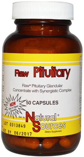 Pituitária Crua, 50 Cápsulas