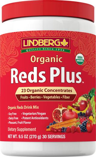 Proszek organiczny Reds Plus 9.5 oz (270 g) Butelka