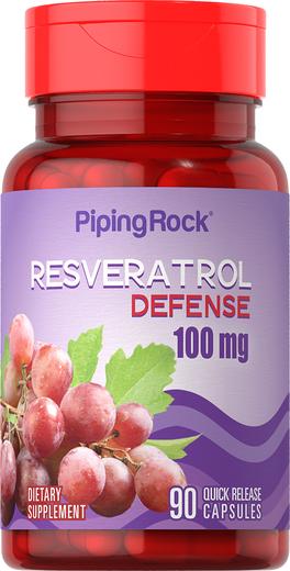 Resveratrol 100mg  plus C 90 Capsules