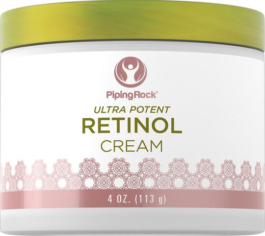 Creme de retinol (creme de vitamina A ultra potente), 400,000 IU per Jar IU, 4 oz (113 g) Boião