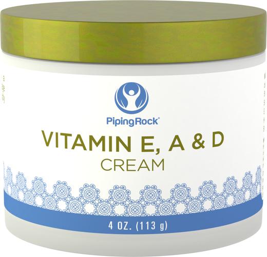 Creme revitalizante de vitamina E, A e D, 4 oz (113 g) Boião