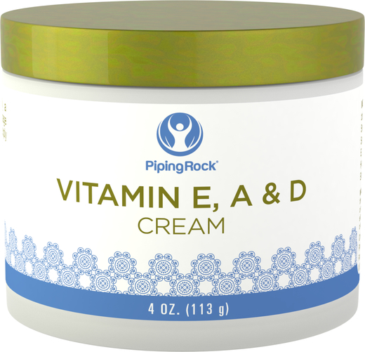 Buy Revitalizing Vitamin E, A & D Cream 4 oz (113 g) Jar