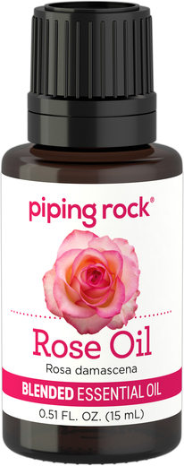 Mezcla de aceite esencial de rosa 1/2 fl oz (15 mL) Frasco con dosificador