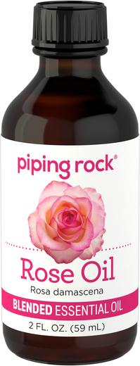 Mistura de óleo essencial de rosas, 2 fl oz (59 mL) Frasco