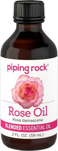 Mezcla de aceite esencial de rosa 2 fl oz (59 mL) Botella/Frasco